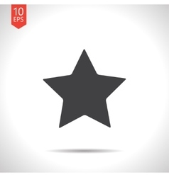 star icon Eps10 vector image vector image