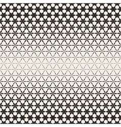 Triangular star shapes halftone lattice vector