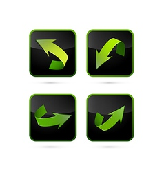 Abstract Arrows Set vector image vector image