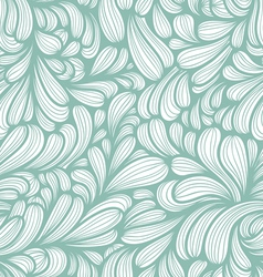 Abstract striped curls pattern vector image vector image