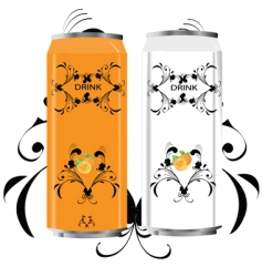energy drink vector image vector image
