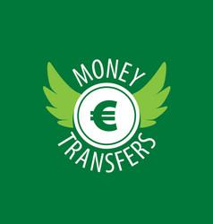 Logo remittances vector