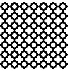 Quatrefoil seamless pattern background in black vector