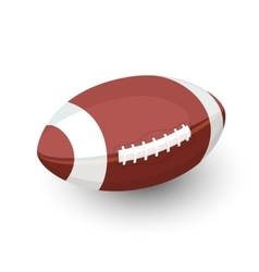 Rugby ball afl football vector