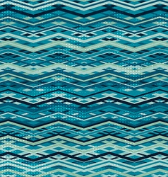 wave zigzag seamless pattern vector image vector image