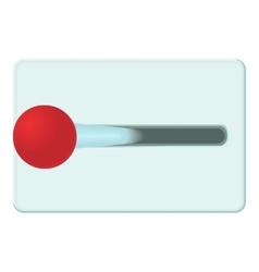 Lever of inclusion icon cartoon style vector