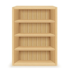 bookshelf 01 vector image