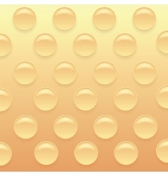Orange bubblewrap background vector