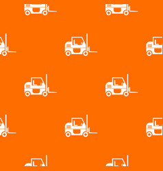 forklift pattern seamless vector image