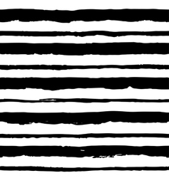 Seamless pattern with grungy stripes vector image