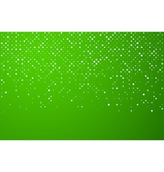 Squares green technology pattern vector
