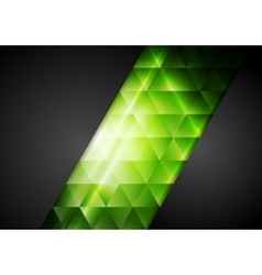 Abstract dark corporate background with bright vector image