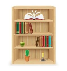 Bookshelf 02 vector