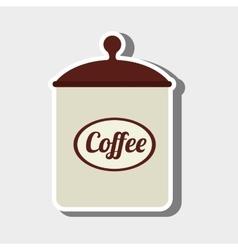 Coffee pot design vector