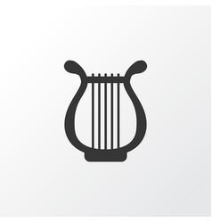 Harp icon symbol premium quality isolated lyre vector