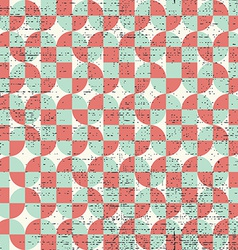 Colorful frayed textile geometric seamless pattern vector