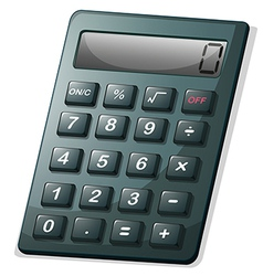 A calculator vector