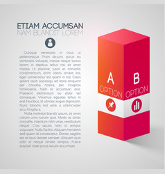Abstract business web presentation vector