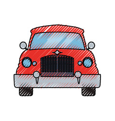 Car transportation vehicle vector