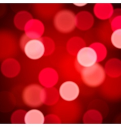 Defocused abstract red background vector