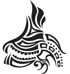 ethnic tattoo vector image