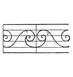 Evolute spiral central junction is a wave pattern vector