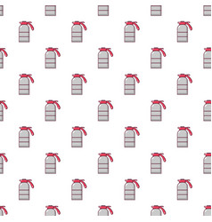 Sprayer container pattern seamless vector