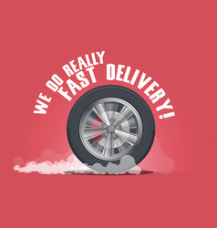 We do really fast delivery vector