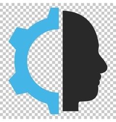 Cyborg Gear Icon vector image