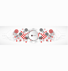 abstract background technology theme for your vector image vector image
