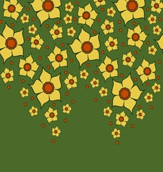 0415 13 lent lily yellow9 v vector