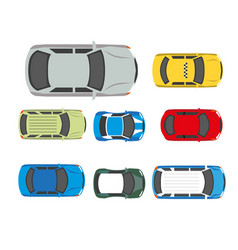 Cars transport or automobile vehicles flat vector