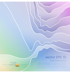 abstract pastel background vector image vector image