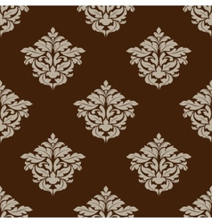 Retro ochre seamless pattern vector