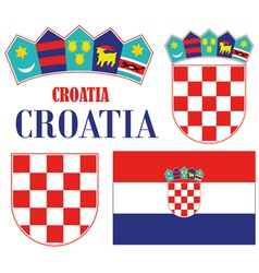 Croatia vector