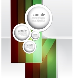 Abstract web design bubble line abstract vector