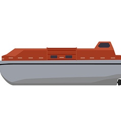 Life boat vector