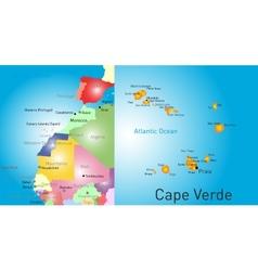Cape verde vector