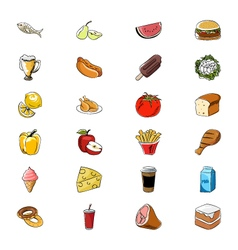Food icons 2 vector