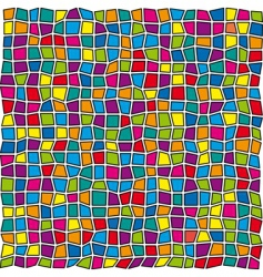 stained glass pattern vector image vector image