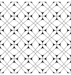 Star and square seamless pattern 1203 vector image