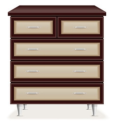 Chest of drawers 01 vector