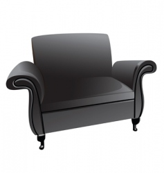 armchair vector image vector image