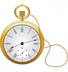 Pocket watch vector