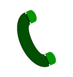 Phone symbol icon vector