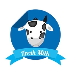Milk product vector