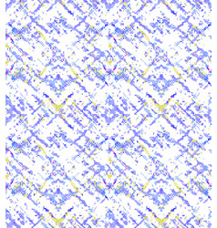 Blue yellow grunge openwork pattern vector