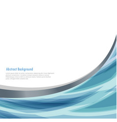Business background with abstract wave vector