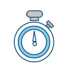 Sport timer chronometer vector