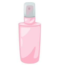 Spray lotion vector image